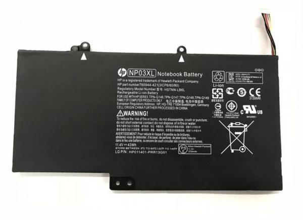 HP Pavilion X360 13-A010DX BATTERY 43 WH