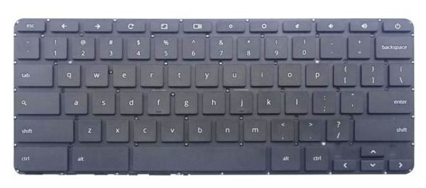 LAPTOP KEYBOARD FOR HP CHROMEBOOK 14 X 14 Q 14 G1 14 G3 14 G4 WITHOUT FRAME AND HAS NO BACKLIT US VERSION BLACK.