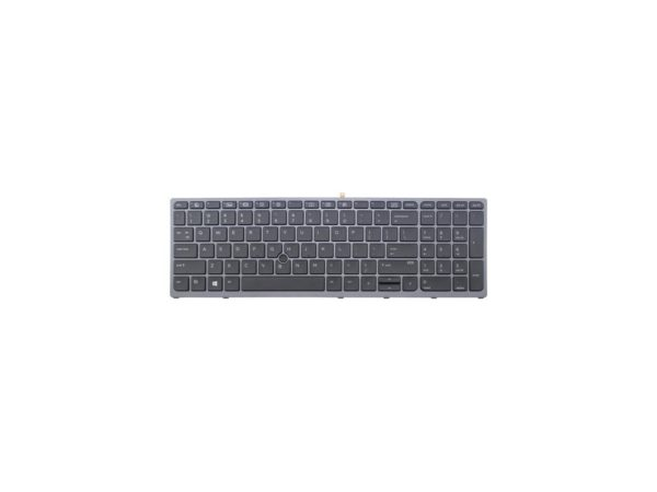 LAPTOP KEYBOARD FOR HP ZBOOK 15 G3 17 G3 WITH FRAME & WITH BACKLIT US VERSION BLACK