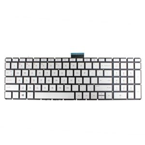 LAPTOP KEYBOARD FOR HP PAVILION 15 CC WITH BACKLIT US VERSION SILVER.