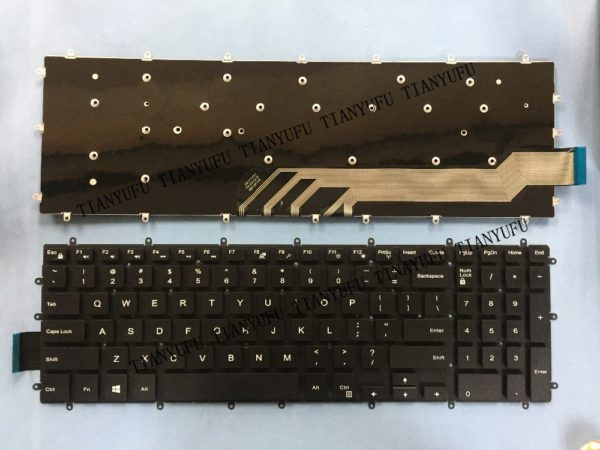 LAPTOP KEYBOARD FOR DELL INSPIRON 5565 WITHOUT BACKLIT