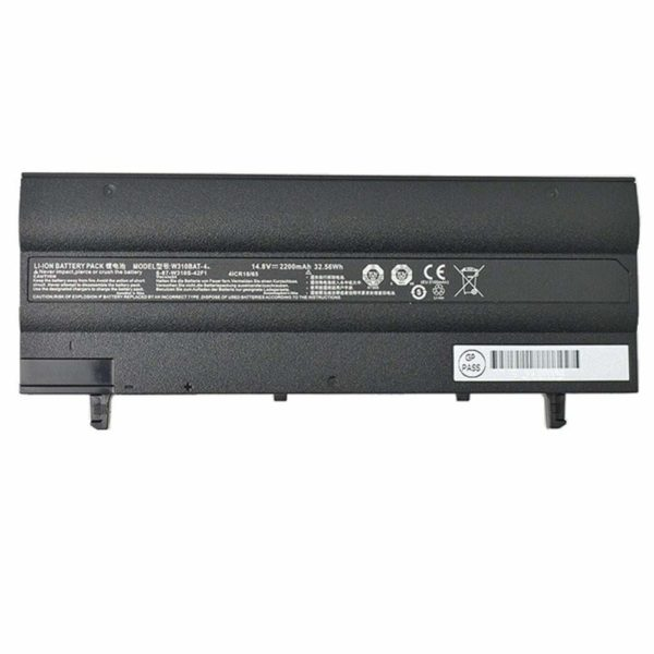 Laptop Battery For Clevo W310CZ-T Wipro W310BAT 4