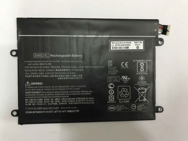 Original Laptop Battery For HP SW02XL