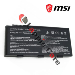 Laptop Battery For MSI BTY